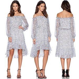 DIANE VON FURSTENBERG printed silk Camila dress